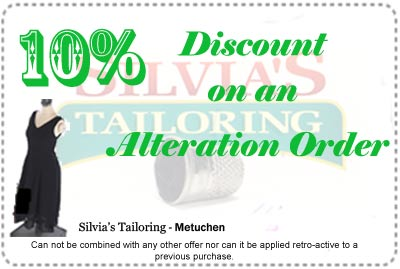 10% Discount coupon for an alteration order